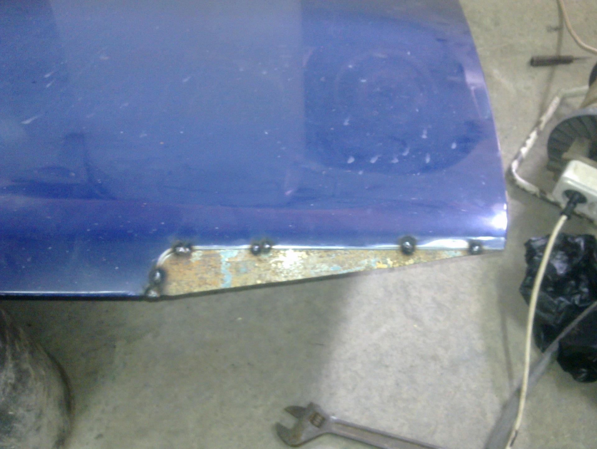 Переделка капота ваз 2109