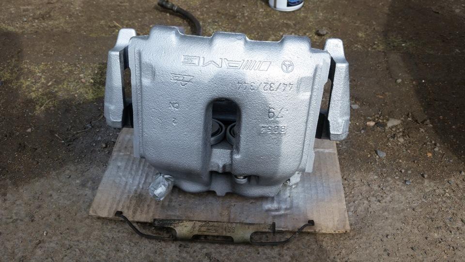 6143812s 960 - Тормозная система мерседес w210