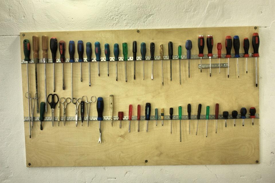 Как сделать стен для инструментов 749