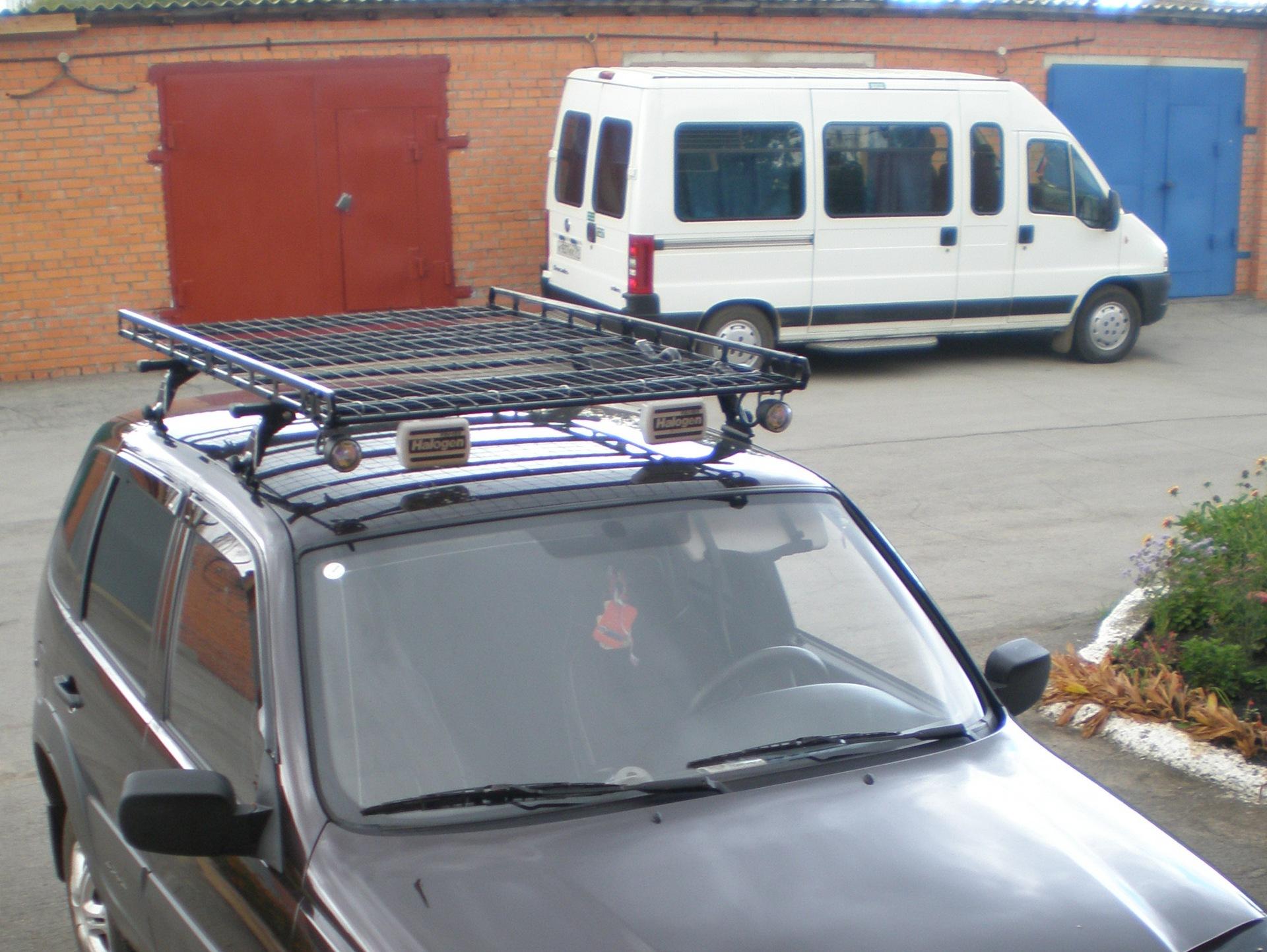 Багажник на крышу нива шевроле