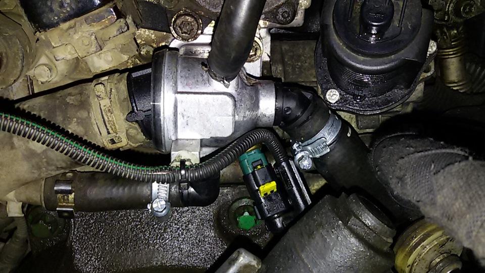как поменять термостат на opel 1.3 дизель/
