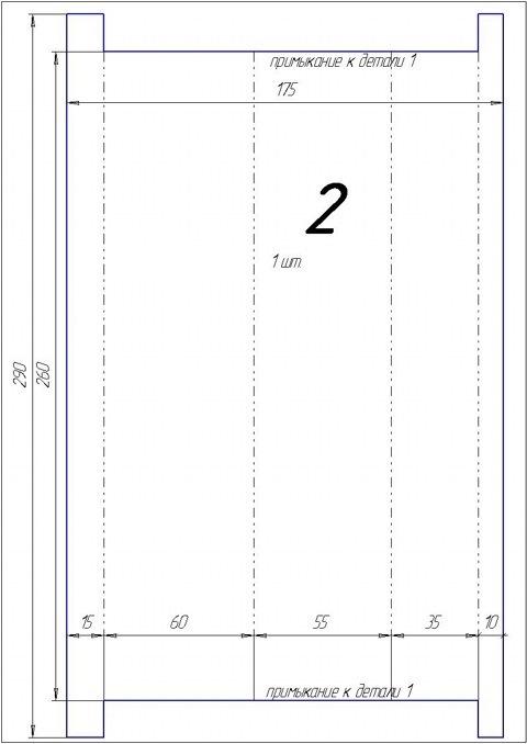 """Чертежи переходника салонного фильтра - logbook Lada 2113 """"Black 13"""" 2008 on DRIVE2"""