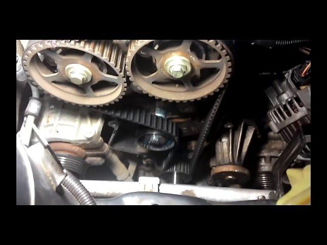 Замена грм на форд фьюжн 1.6