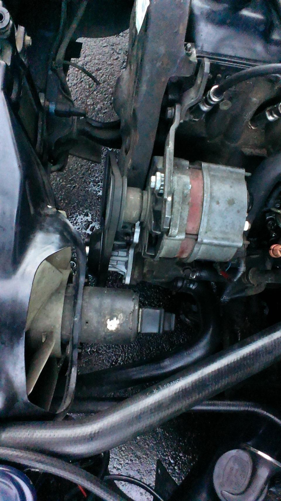 audi 80 b4 abk 2.0 перегрев двигателя