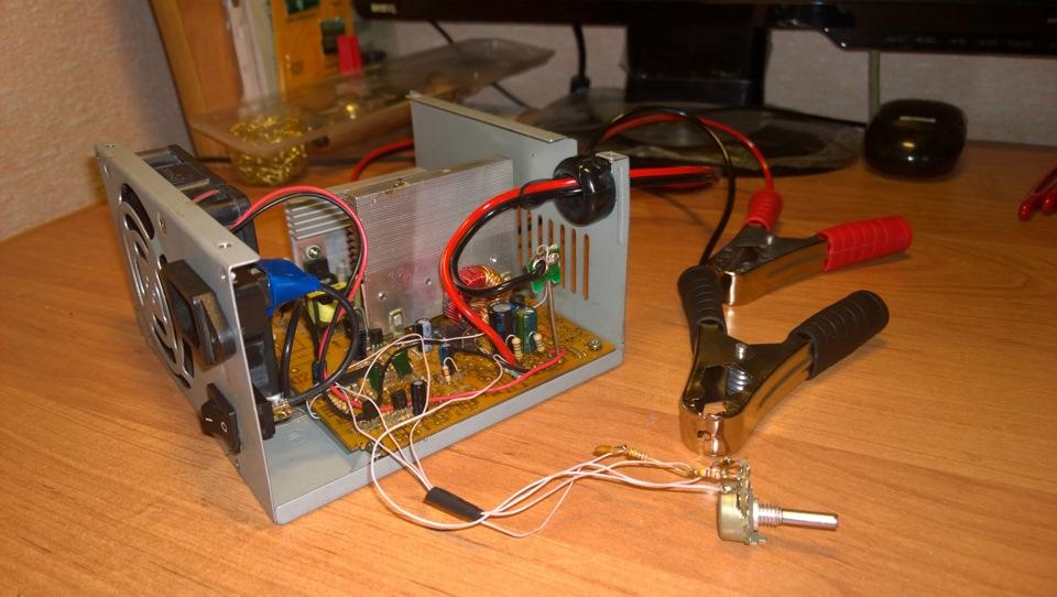 Как своими руками сделать зарядное устройство для аккумулятора