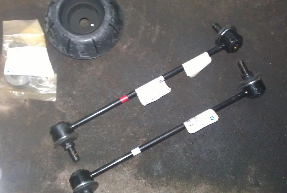 Стойка стабилизатора передняя есть ли разница левая или правая
