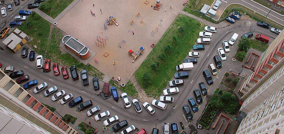 Как паркуются в россии - 1d000