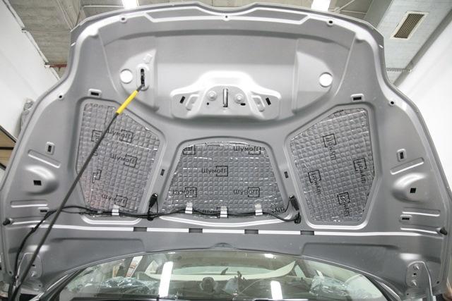 Как сделать шумоизоляцию форд фокус 2 своими руками
