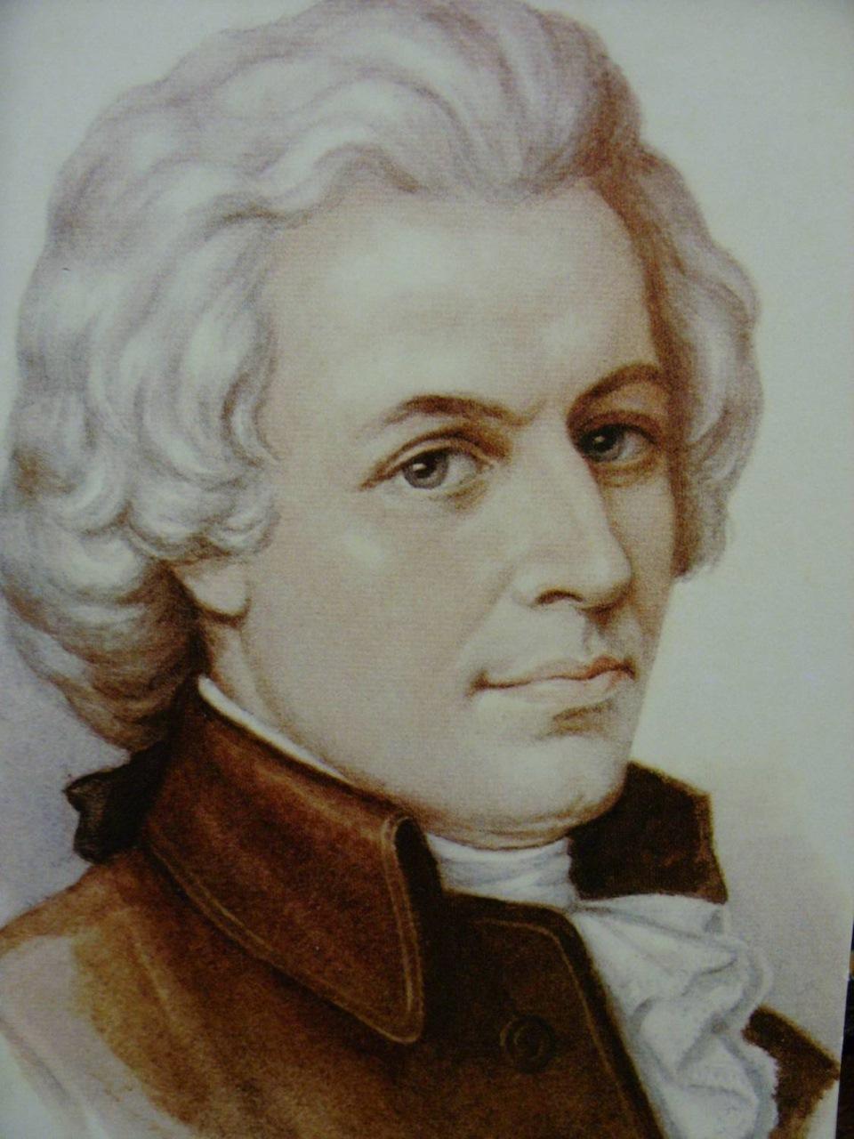 Картинка композитора моцарта