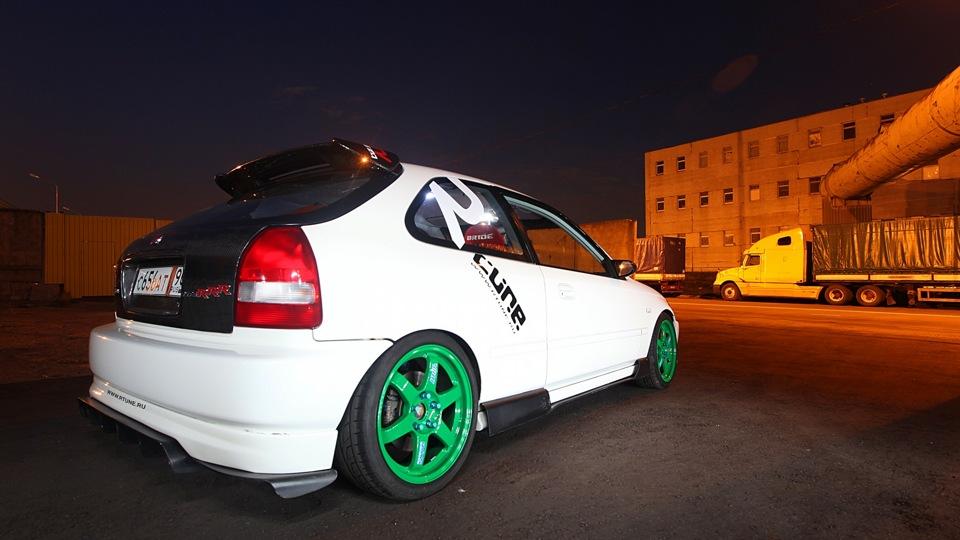 honda civic hatchback 1996-2000 фото тюнинг