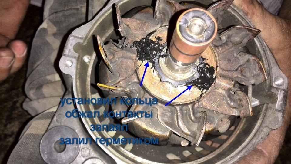 Как заменить токосъемные кольца на генераторе - Pedrollo-zakaz.ru