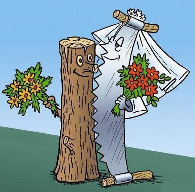 Открытки на 5 лет свадьбы смешные