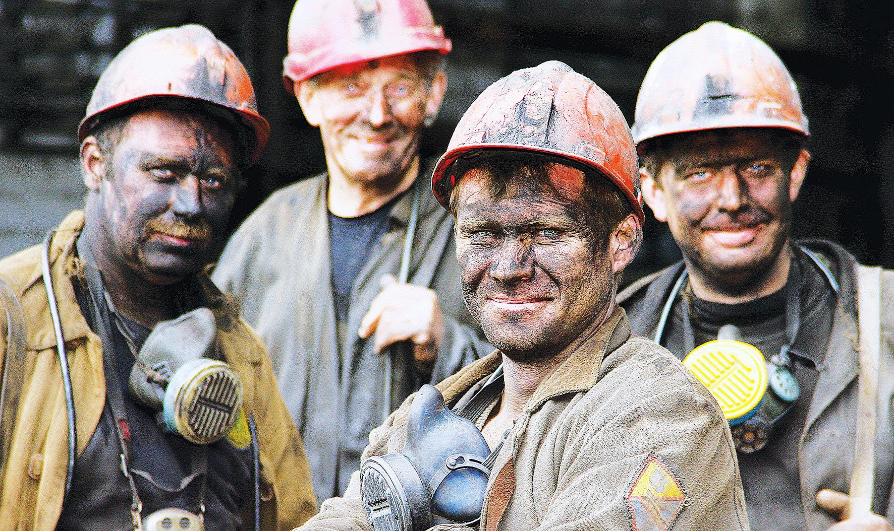 шахтеры фото большого размера эстетической привлекательности, они