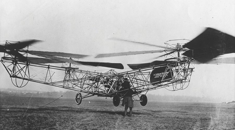 Квадрокоптер Ботезата