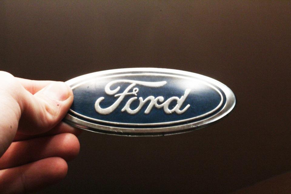 поменять значок ford