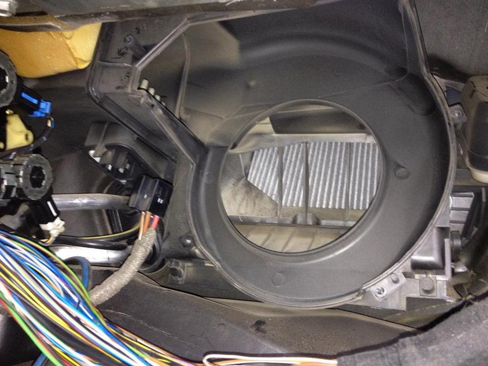 opel omega b ремонт вентилятора отопителя
