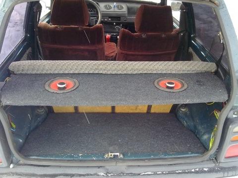 Как сделать багажник на авто видео