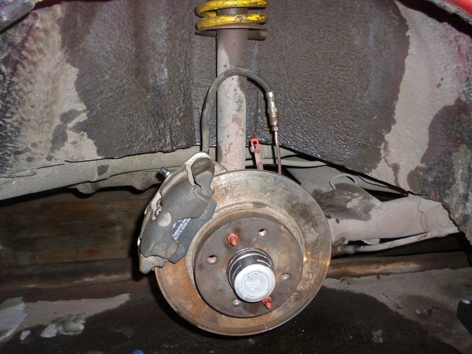 Как сделать дисковые тормоза на ваз 2109
