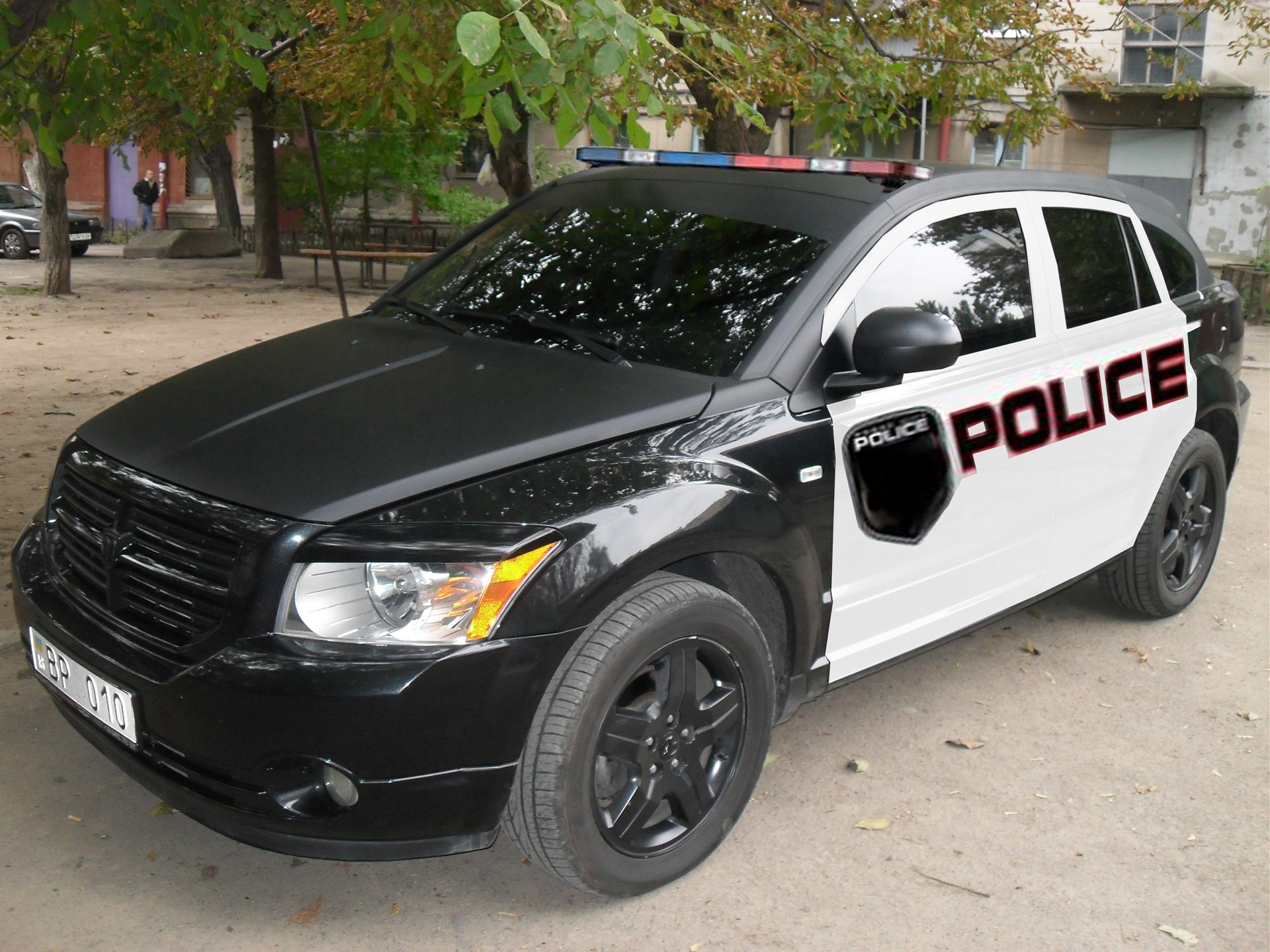 Dodge Caliber Police Car Stoit Li Bortzhurnal Dodge Caliber