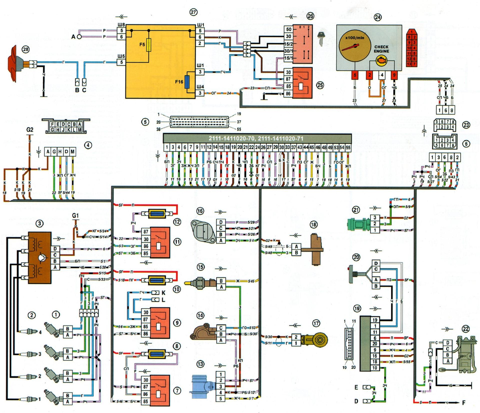 Схема подключения эбу bosch фото 226