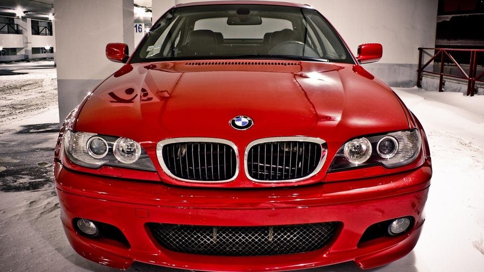 bmw красная