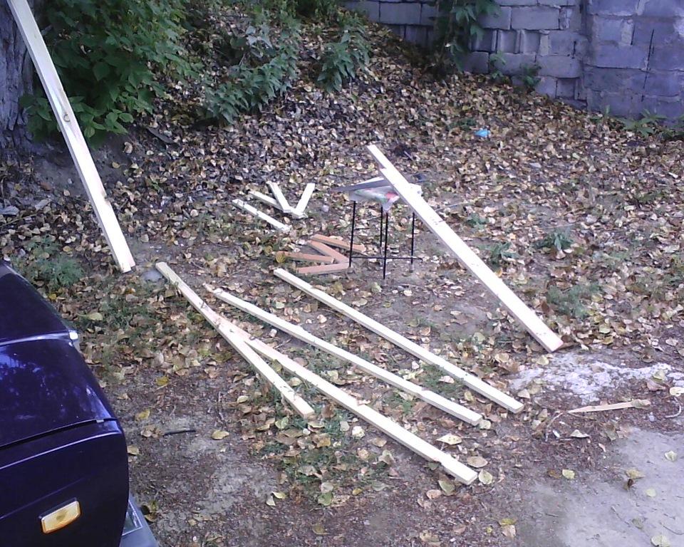 Как своими руками построить гараж фото