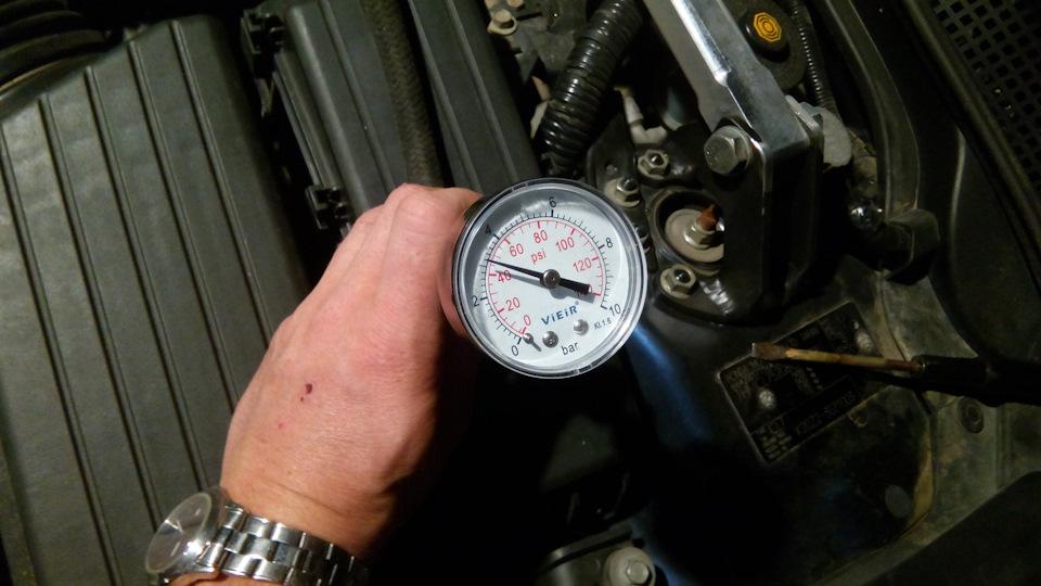 скачет давление топлива без нагрузки honda