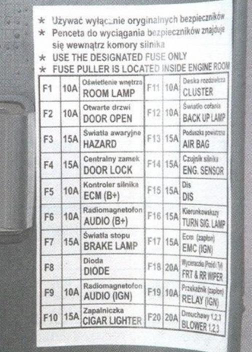 Шевроле ланос схема системы охлаждения фото 787