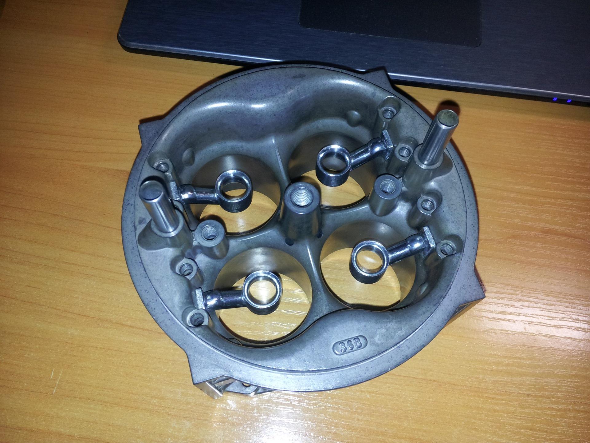 Holley 80805 Ultra HP  Renovation complete  — ГАЗ 21, 4 3 л