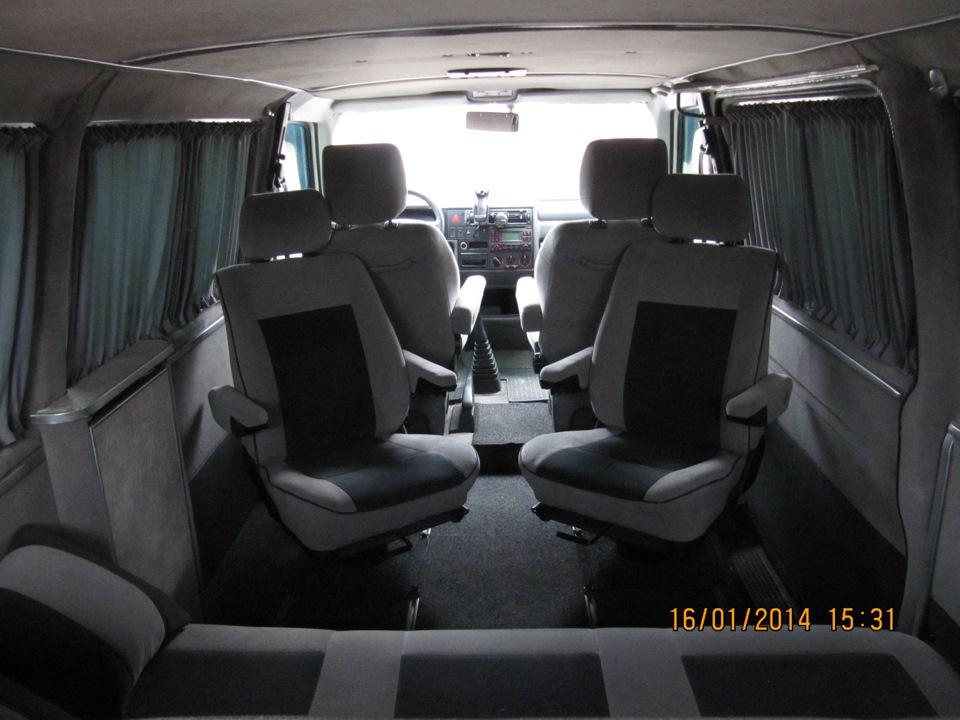 volkswagen multivan фото салона