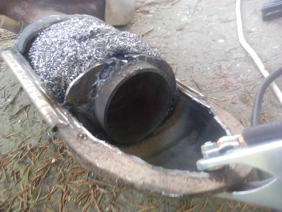 175Как сделать пламегаситель для трубы