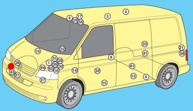схема системы охлаждения фольксваген мультивен т5