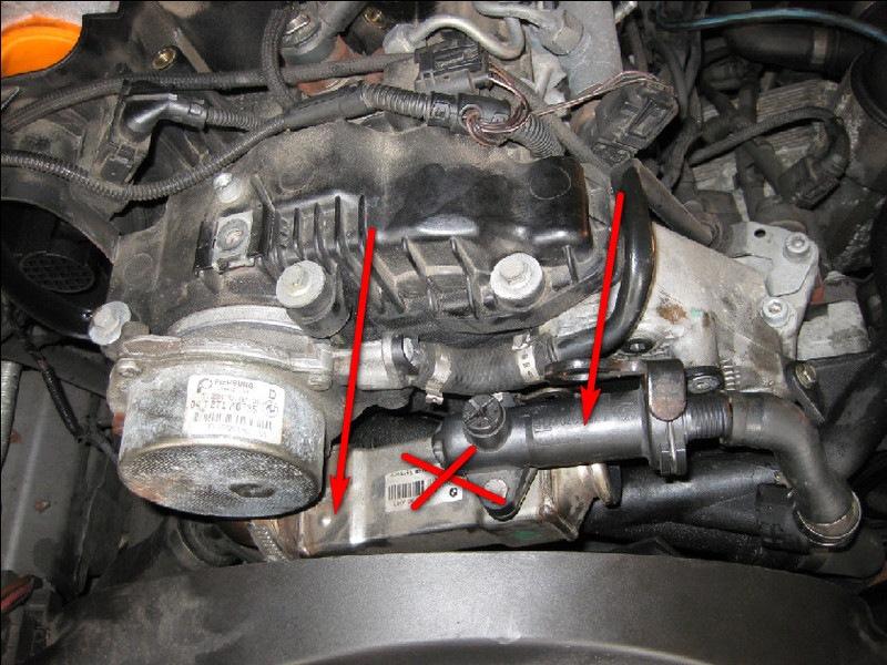 Капает тосол теплообменник bmw e65 теплообменник 28 квт гориз.pahlen hf 28