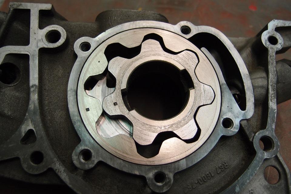масляный насос опель двигатель х14хе