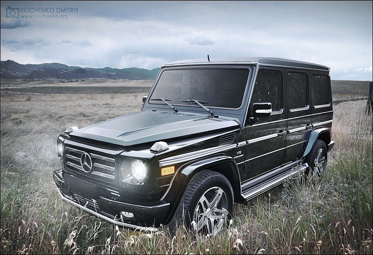 Фотообработка для GrafinyaG & alinmuzh (Mercedes G 55 AMG & Range ...