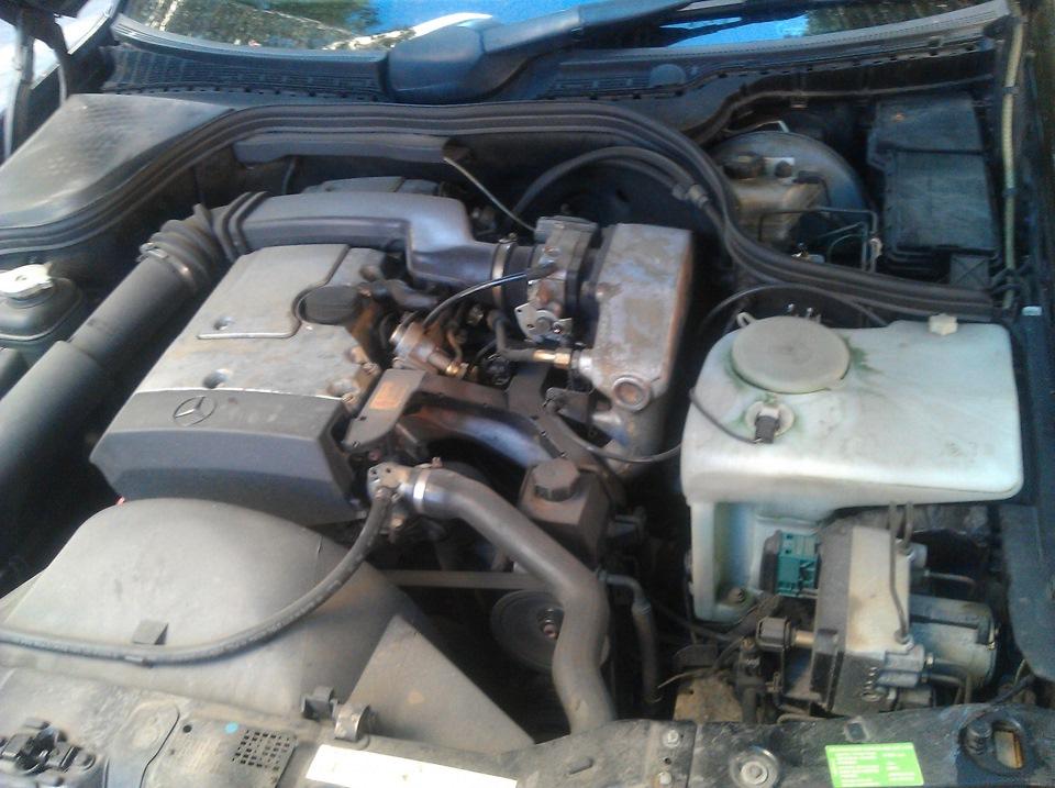 свист при работе двигателя мерседес 250d