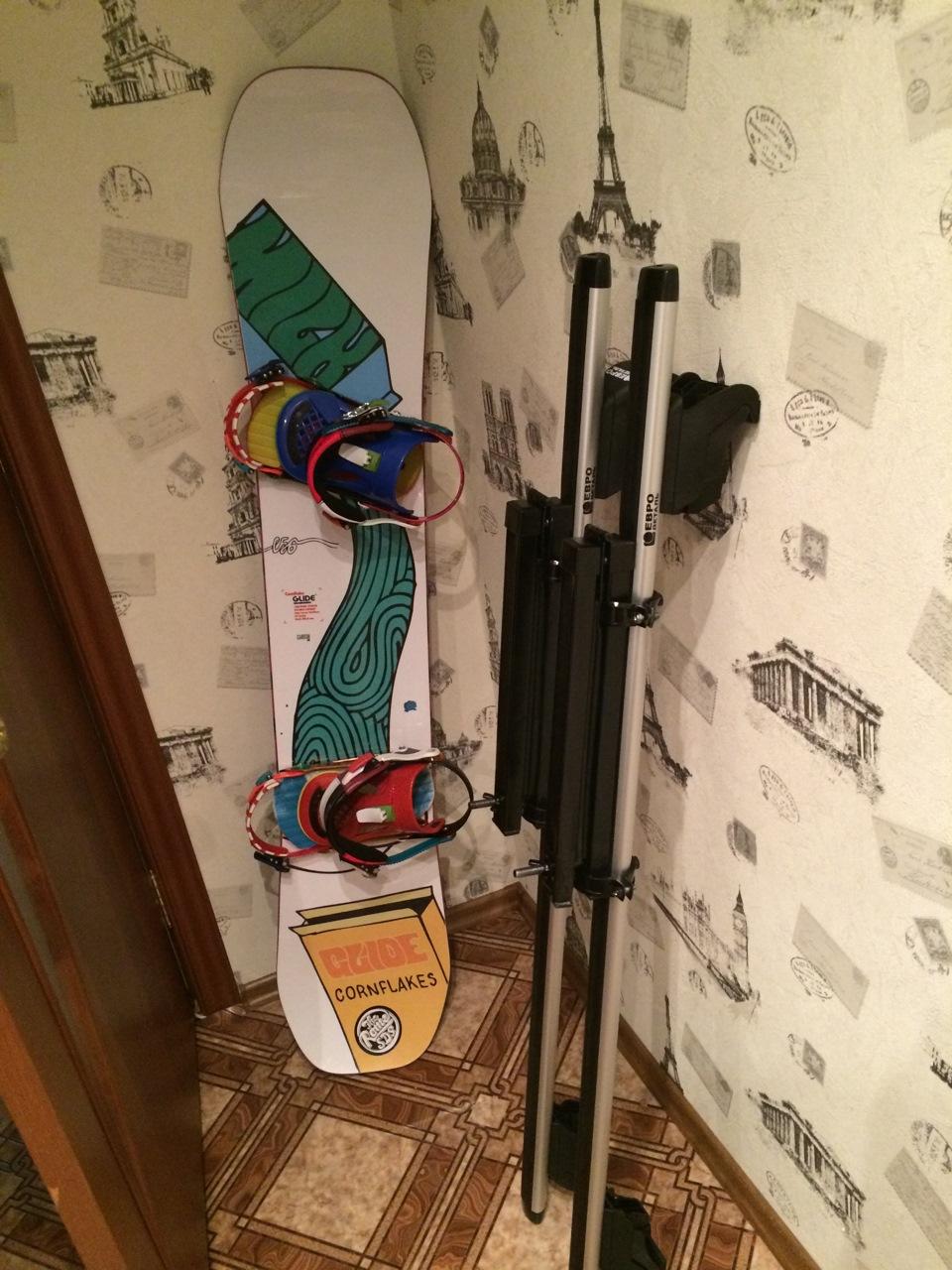 Как сделать крепления для сноуборда