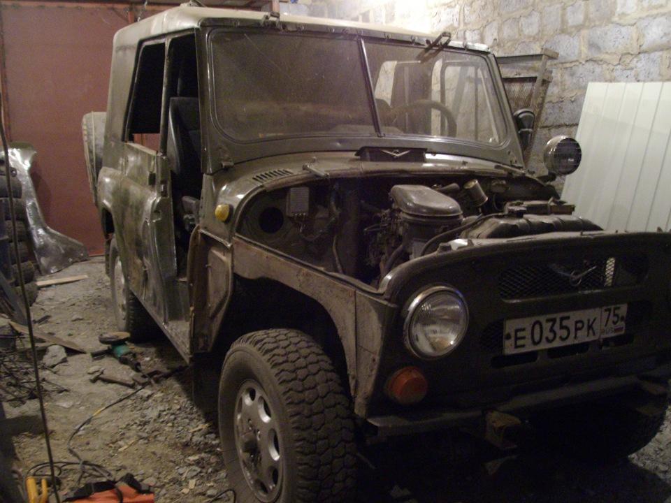 Кузовной ремонт на уаз 469 своими руками