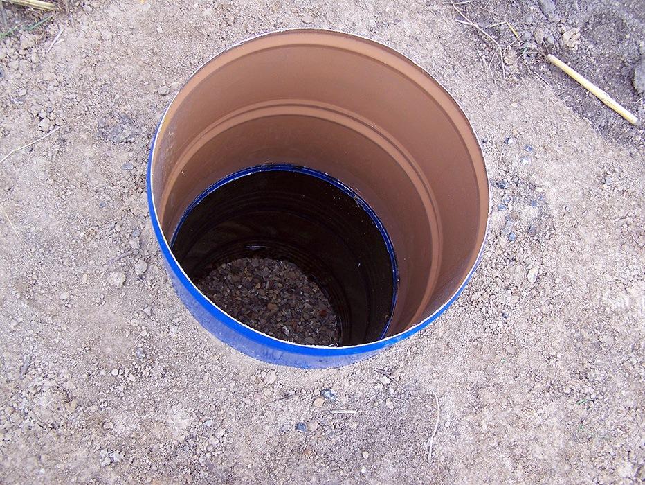 Септик из бочки для дачного туалета