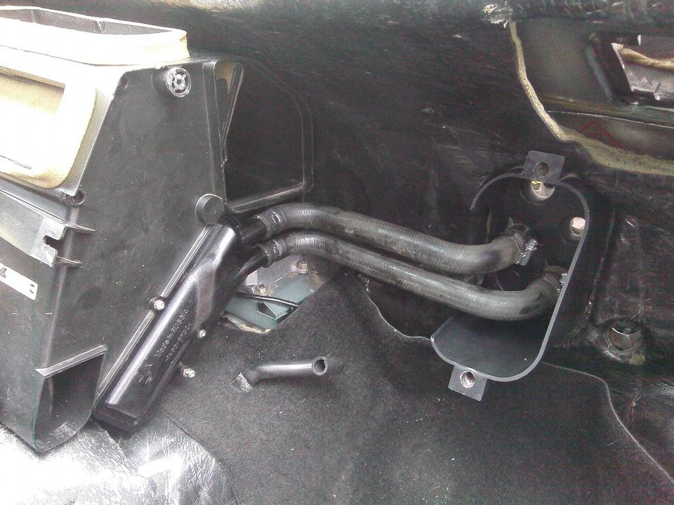 Замена радиатора отопителя на ниве шевроле своими руками