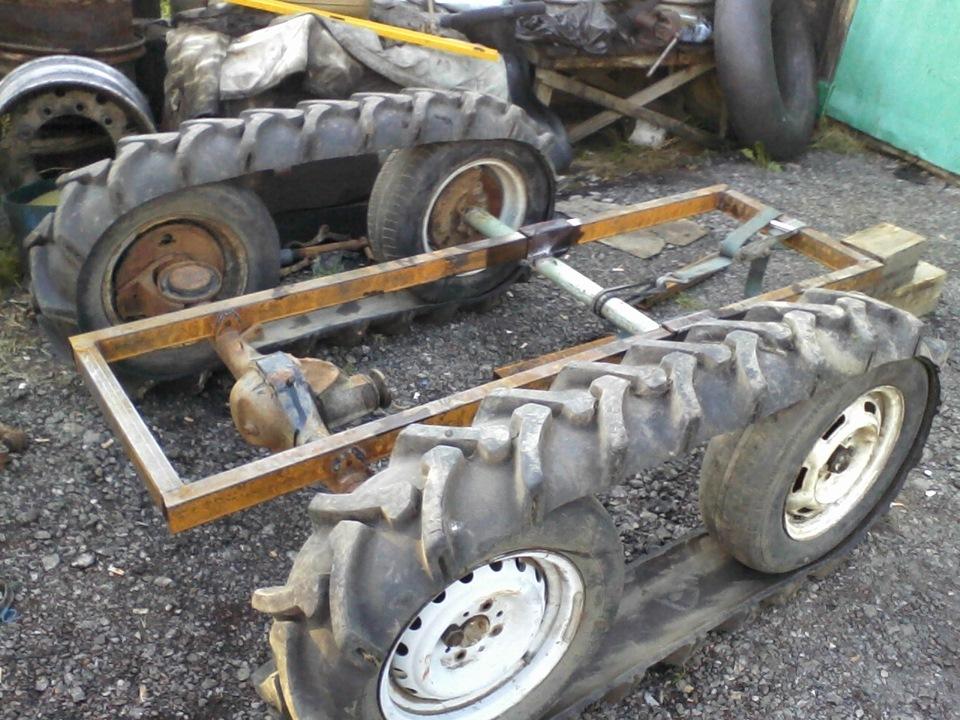 Трактор переломка своими руками чертежи фото 590
