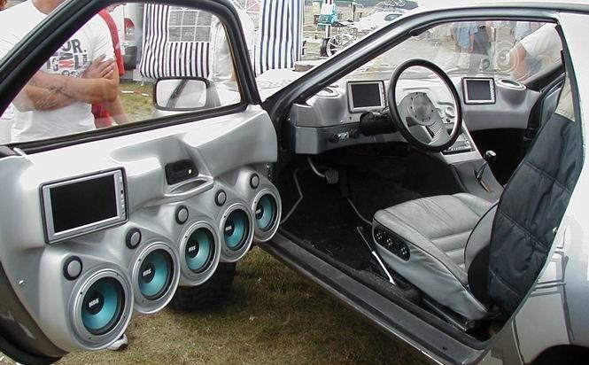 Установки музыки в машину своими руками