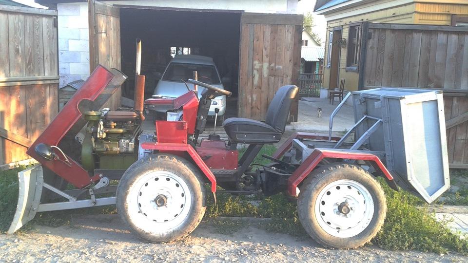 Как сделать большой трактор своими руками 42