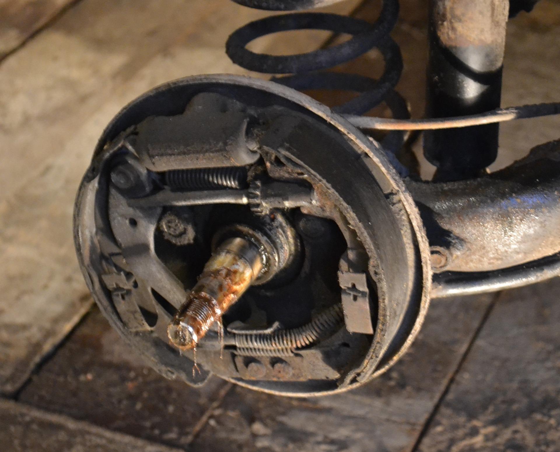 Как заменить задние колодки калина - Проммонтаж