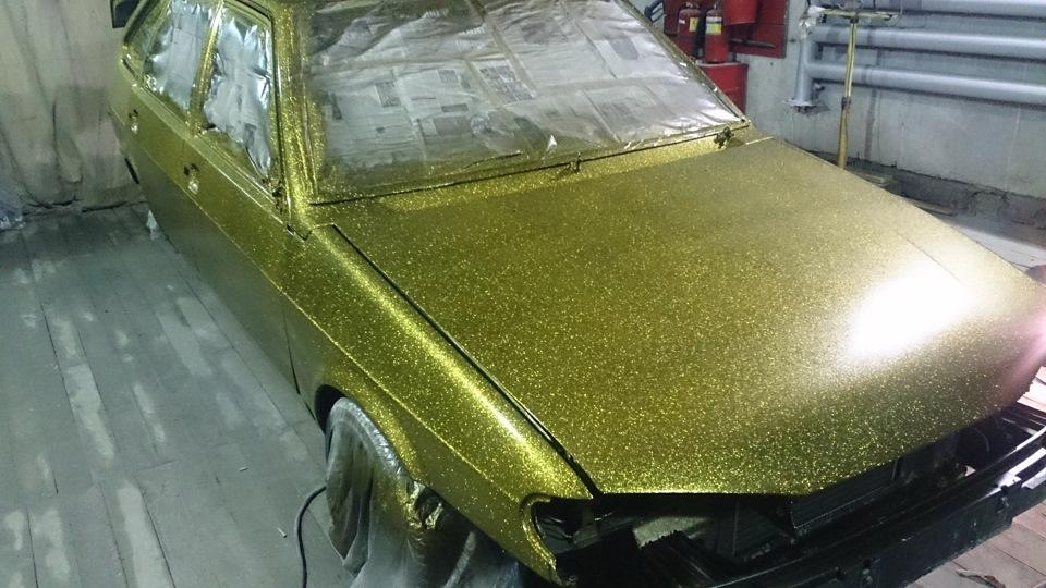 Покраска авто в титан своими руками