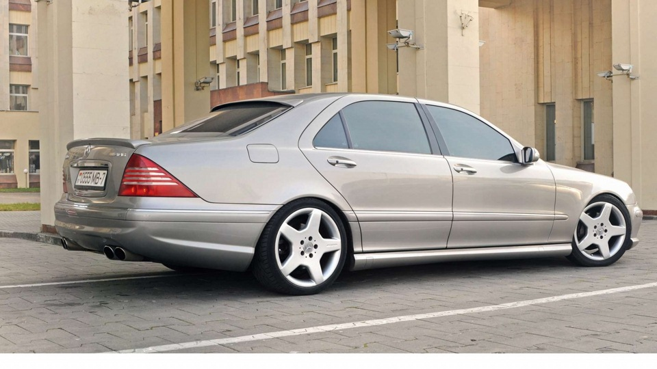 Mercedes benz s 55 amg drive2 for 2001 mercedes benz s55 amg