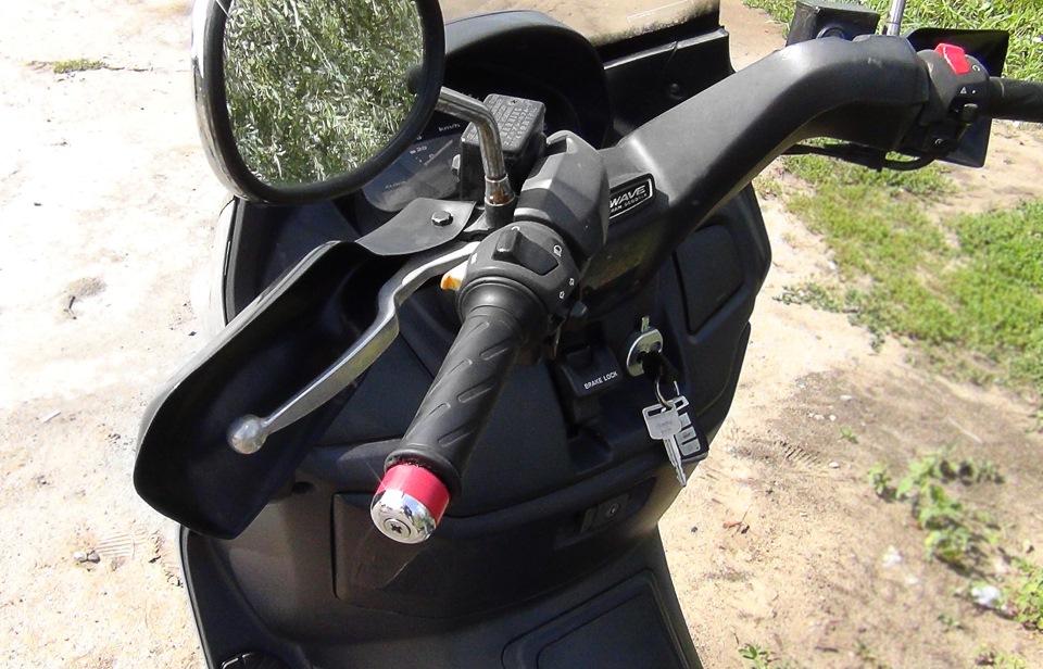 Защита на мотоцикл своими руками