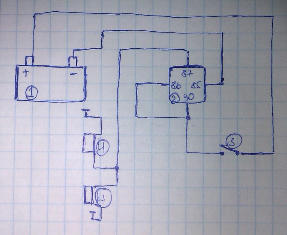 схема. 1 — аккумулятор