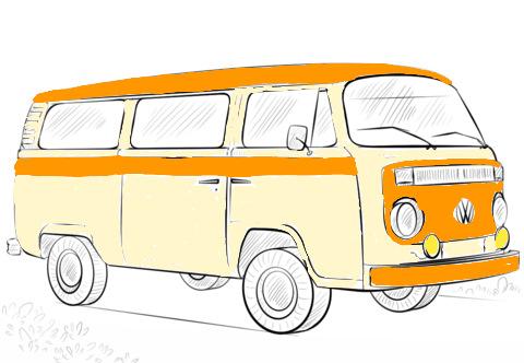 Фольксваген транспортер раскраска купим транспортеры конвейеры бу