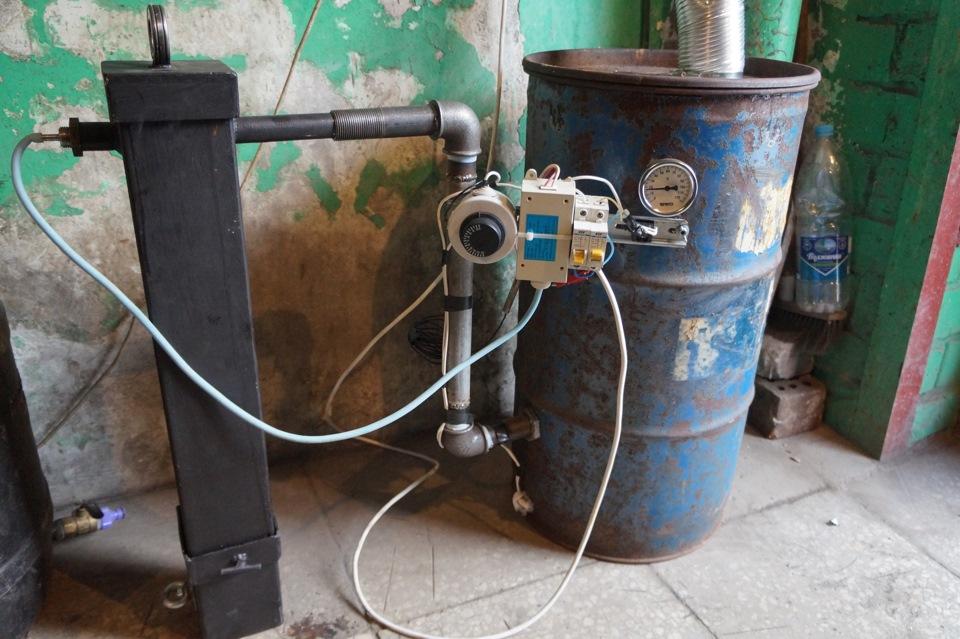 Коптильня с дымогенератором  фото
